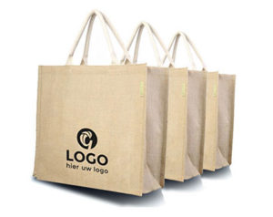 Jute Taschen mit Logo