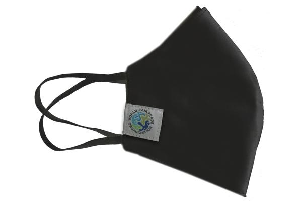Fair Trade Mundschutzmasken schwarz